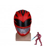 Power Rangers Red Ranger Mask Helmet Cosplay Prop