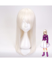 Fate Grand Order Illyasviel von Einzbern Long Milk Golden Cosplay Wig