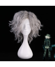 FGO Fate Grand Order Avenger Monte Cristo Edmond Dantes Short Curly Silver Gray Cosplay Wig