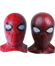 Avengers Infinity War Spiderman Latex Mask Cosplay Prop