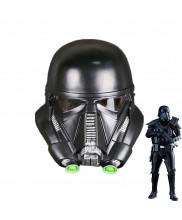 Star Wars Death Storm Trooper Black Helmet PVC Movie Adult Mask Props