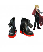 Fullmetal Alchemist Edward Elric Cosplay Boots Shoes Custom Made