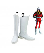 Gundam The ORIGIN Char Aznable Cosplay Shoes Boots Custom Made