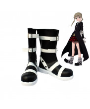 Soul Eater Maka Albarn Cosplay Boots Black Shoes Customized Size