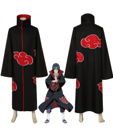 NARUTO Uchiha Itachi Cosplay Costume Coat Halloween Outfit