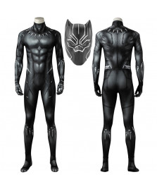 Black Panther T'Challa Cosplay Costume 3D Printed Bodysuit Spandex