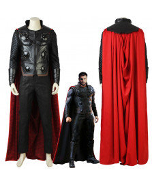New Avengers Infinity War Thor Cosplay Costume