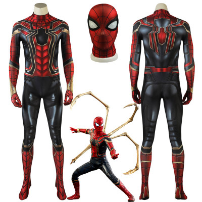 Avengers Infinity War Peter Parker Iron Spider-Man Suit