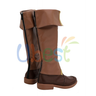 The Legend of Heroes Trails of Cold Steel Rean Schwarzer Shoes Cosplay Men Boots